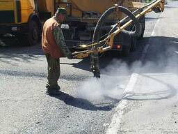 Ямочный и текущий ремонт автомобильных дорог