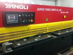 Yangli QC12Y 4/2500 гидравлические пресс ножницы гильйотина
