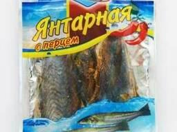 Янтарная рыба с перцем