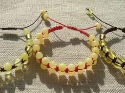 Янтарные браслеты Шамбала