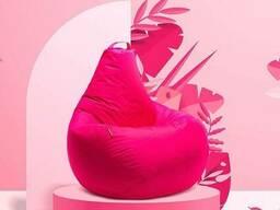 Ярко малиновый кресло мешок груша