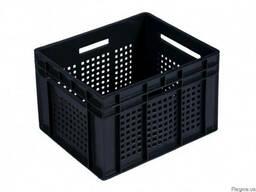 Пластиковый ящик 433 Х 347 Х 283 черный