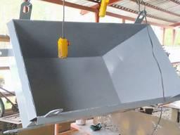 Ящик бадья тара строительный для раствора и бетона 0, 3 куб