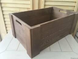 Ящик большой деревянный