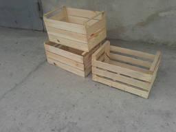 Ящик деревянный шпоновый евротара