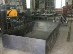 Ящик для бетона или раствора 2 куба.