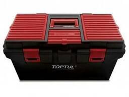 Ящик для инструмента 4секции (пластик) Toptul