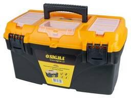 Ящик для инструмента с органайзером 432×250×238мм, Sigma. ..