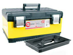 Ящик для инструментов с металлическими замками Intertool...