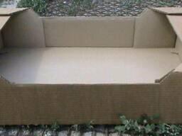 Ящик для клубники, малины и пр. из гофрокартона