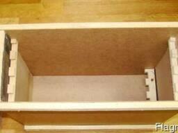 Ящик для пчелопакетов на 4-5 рамок Дадан