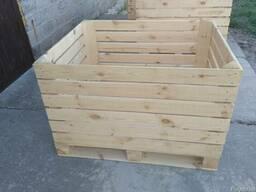 Ящик для яблок, контейнер яблочный - фото 3