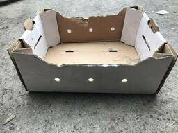Ящик клубничный/ягодный картонный