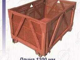 Ящик контейнер металлический 1200Х800Х600