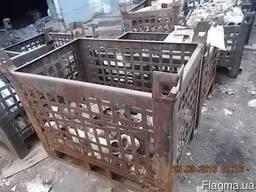 Ящик металевий складський 1м3