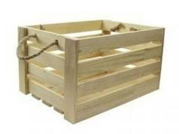 Ящик реечный из дерева WooDMood