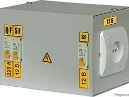 Ящик с понижающим трансформатором ЯТП-0,25 220/12,24,36В