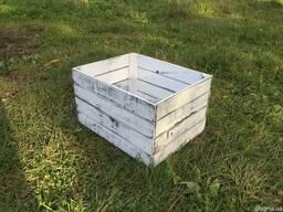 Ящик тара деревянный универсальный декоративный