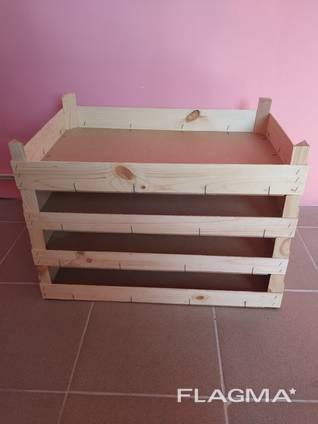 Ящики деревянные под фрукты, ягоды, овощи