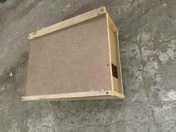 Ящик для пчелопакетов, пчел