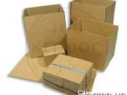 Ящики коробки лотки из гофрокартона.