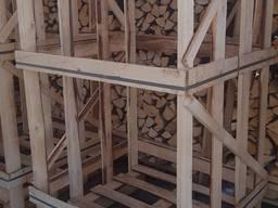 Ящики на дрова, пиломатеріали