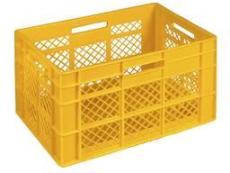 Ящики пластиковые для хлеба, хлебобулочных и кондитерских из