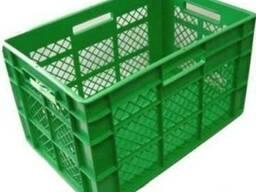 Ящики пластиковые, тара полиэтиленовая