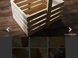 Ящики, поддоны деревянные.