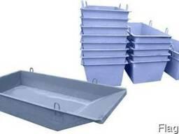 Ящики / тара для раствора от производителя от 0.2 куб.м.