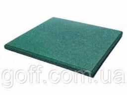 Яскрава Гумова плитка - зелена