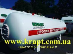 Ёмкость для хранения газа (СУГ) 12,5 куб.м надземная
