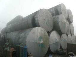 Ёмкости горизонтальные для нефтепродуктов 25,48,52 и 65000 л