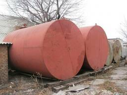 Ёмкости металлические 5-70 м3