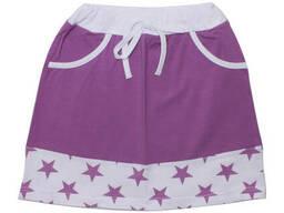 Юбка Валери-Текс 1809-99-242-005 104 см Фиолетовый