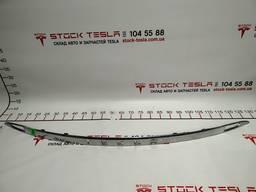 З/ч Тесла. Накладка TESLA крышки багажника хром (без букв)