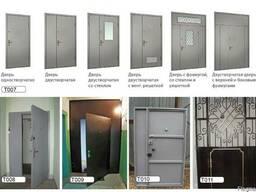 Двери тамбурные из металла в Одессе