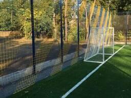 Забор 3D с полимерным покрытием для спортплощадок!