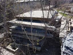 Забор бетонный секция 4*2,5 б/у