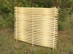Забор деревянный декоративный