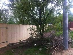 Забор деревянный для стройки - фото 5