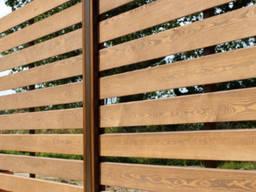 Забор деревянный Планкен