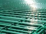 Металлический забор из сварной сетки, паркан 150х300см - фото 8