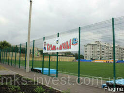 Забор 3D (еврозабор - Техна-Спорт высота 4м