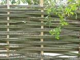 Забор из лози - фото 1