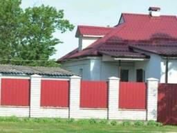 Забор из профнастила - photo 2