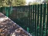 Забор из профнастила, метало штакета, ворота, калитки - фото 2