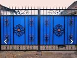Забор из профнастила, метало штакета, ворота, калитки - фото 5