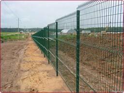 Забор из сетки для базы отдыха