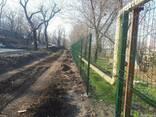 """Забор из сварной сетки , """"РУБЕЖ"""" с полимерным покрытием - фото 4"""